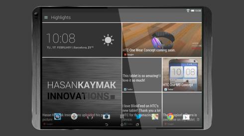 HTC T12 tablet concept 7