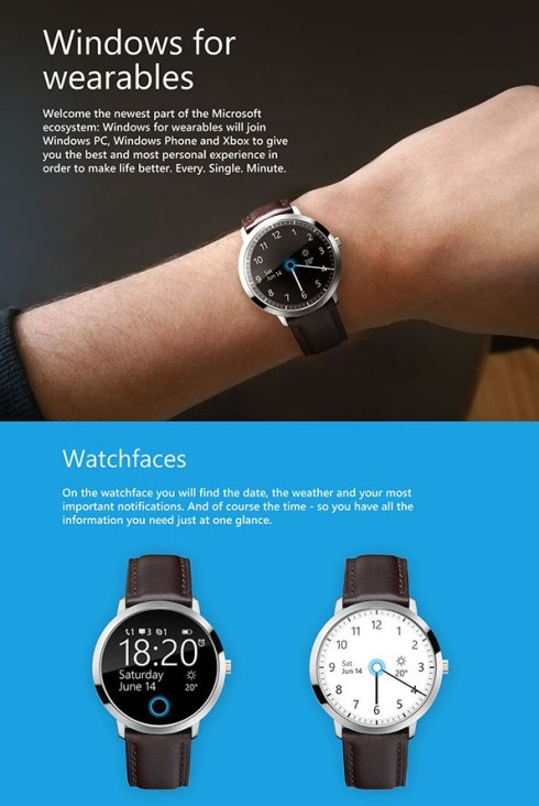 Microsoft smartwatch concept 1