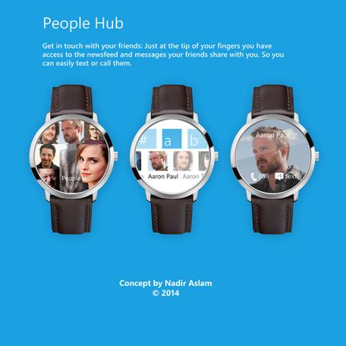 Microsoft smartwatch concept 2