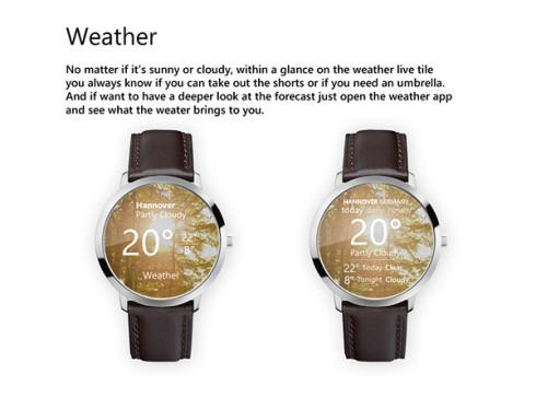 Microsoft smartwatch concept 7