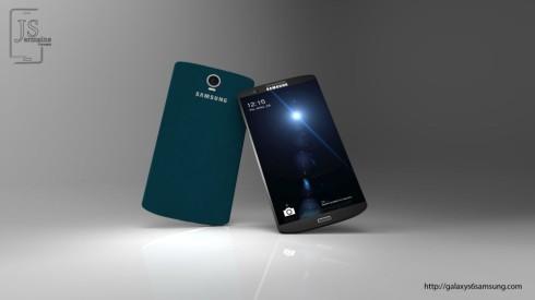 Samsung Galaxy S6 Jermaine Smit concept 2