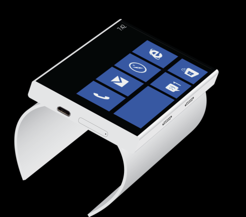 Windows Phone 9 bracelet concept 1