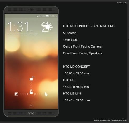 htc m9 concept
