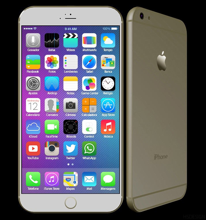 iphone 6 versions new iphone 6 5 5 inch version renders inspired by leaks 11442