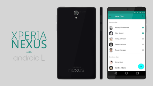 xperia nexus android L