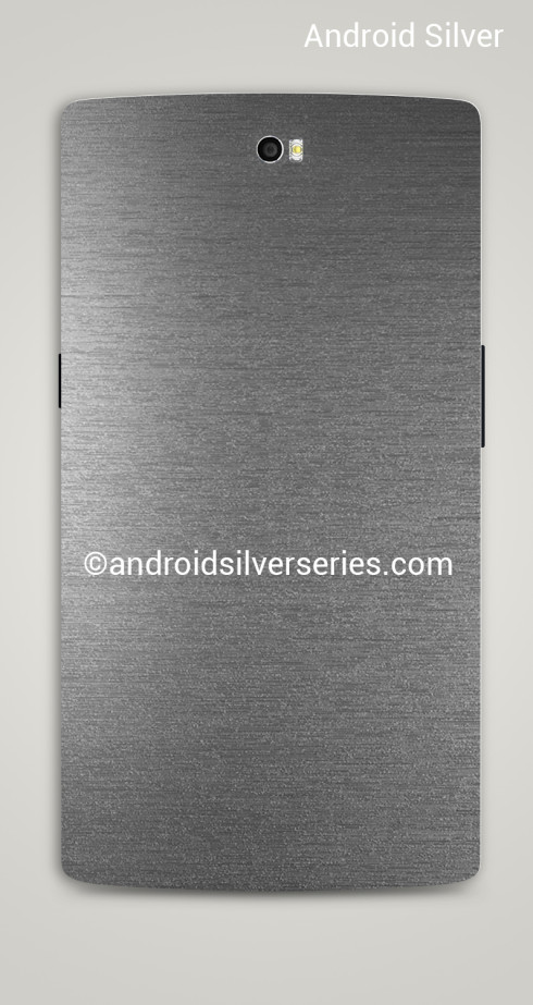 Android Silver back