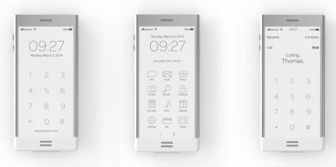 E-phone concept e ink 2