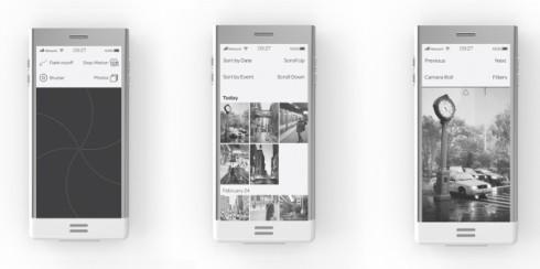 E-phone concept e ink 4