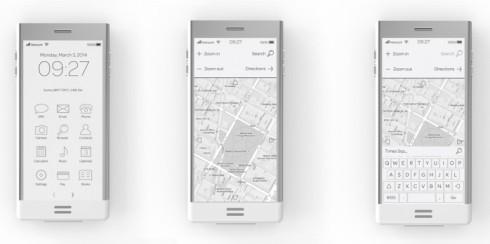 E-phone concept e ink 6
