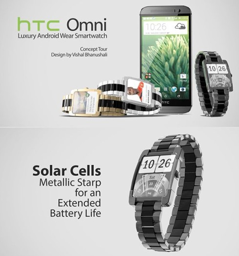HTC Omni Android Wear smartwatch 1