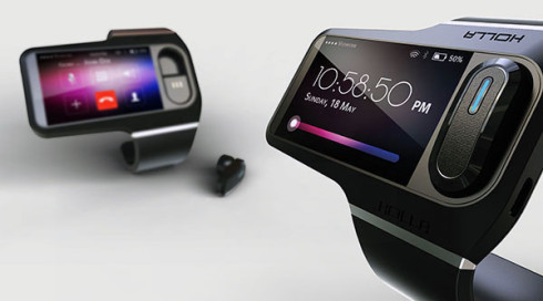 Holla wearable gadget concept 1