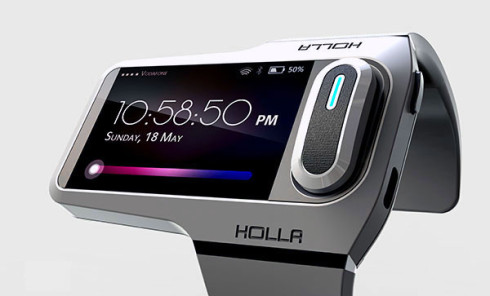 Holla wearable gadget concept 2