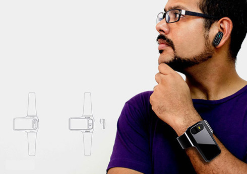 Holla wearable gadget concept 3