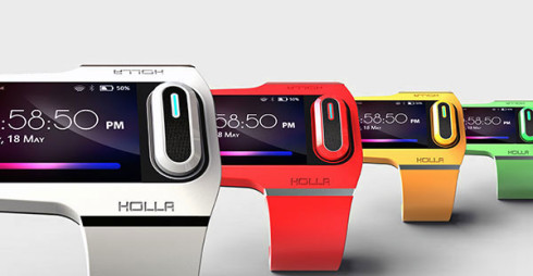 Holla wearable gadget concept 4
