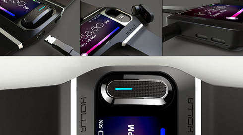 Holla wearable gadget concept 5