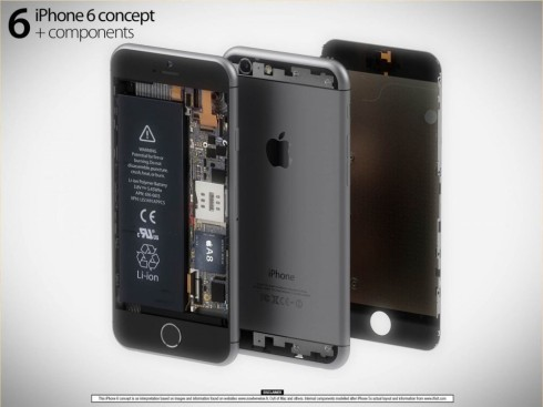 Martin Hajek iPhone 6 components 1