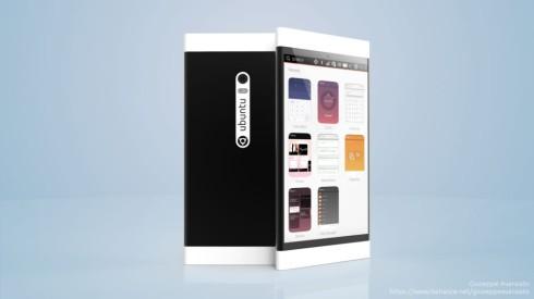 Ubuntu U1 concept phone 2
