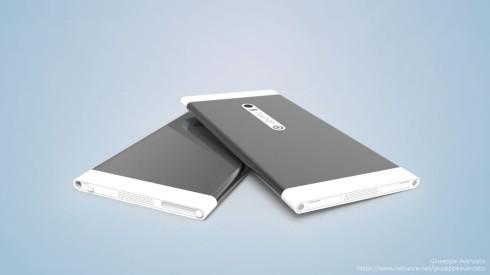 Ubuntu U1 concept phone 3
