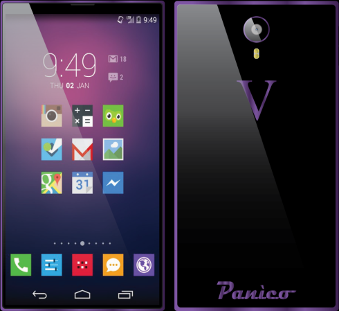Vincenzo Panico concept phone 2