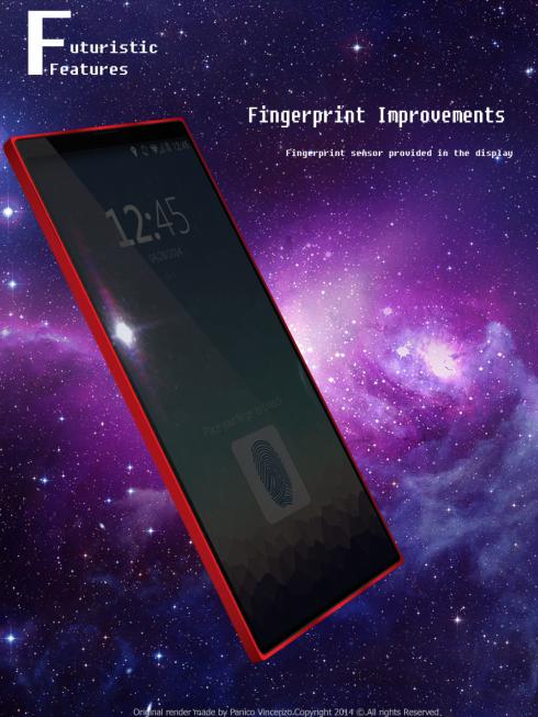 Vincenzo Panico concept phone 5