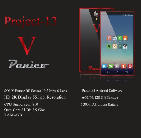 Vincenzo Panico concept phone 6
