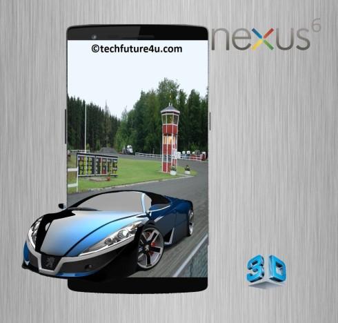 nexus 6 3D concept