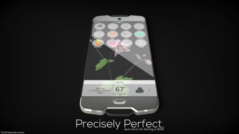 sapphire glass concept phone