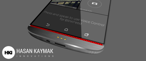 HTC One M9 concept Hasan K 2