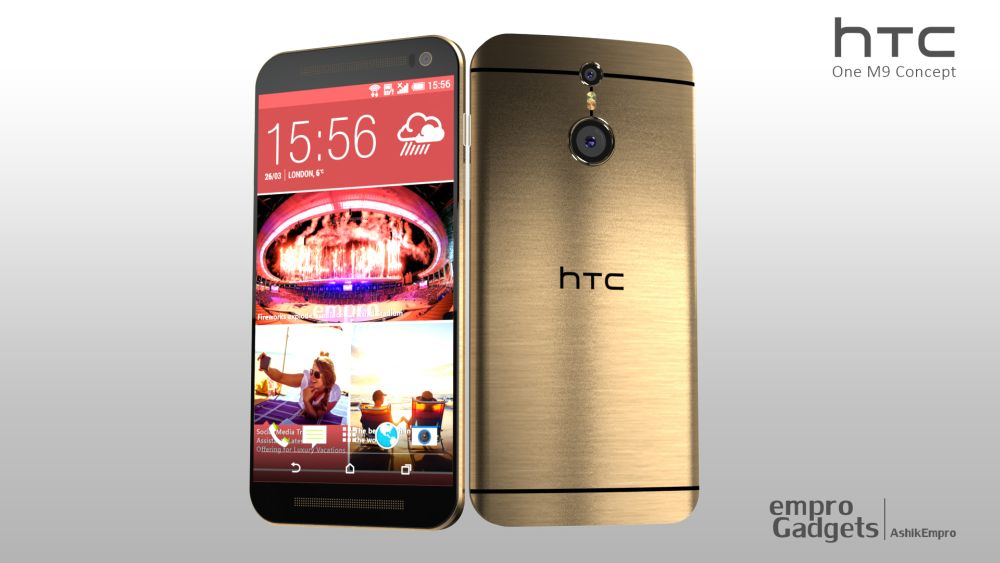 These HTC One M9 concepts look quite different from the M8