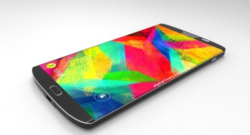 Samsung Galaxy S6 Edge concept 1