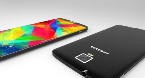 Samsung Galaxy S6 Edge concept 3