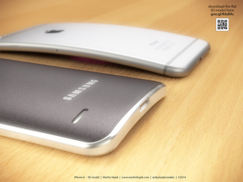 iPhone 6 Bend concept Martin Hajek 1