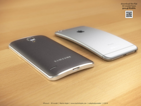 iPhone 6 Bend concept Martin Hajek 2