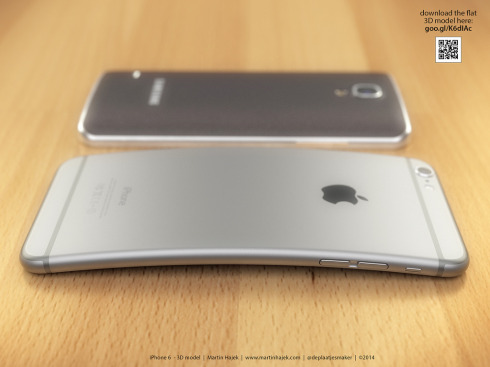 iPhone 6 Bend concept Martin Hajek 3