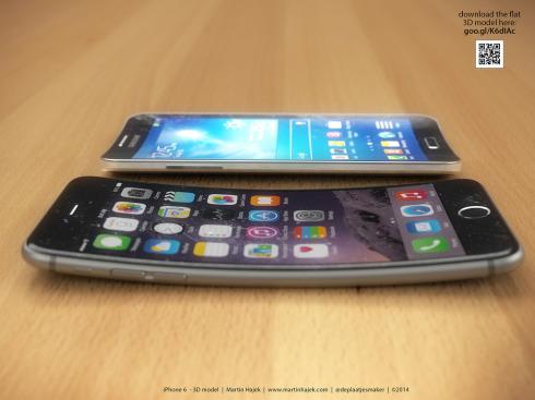 iPhone 6 Bend concept Martin Hajek 4