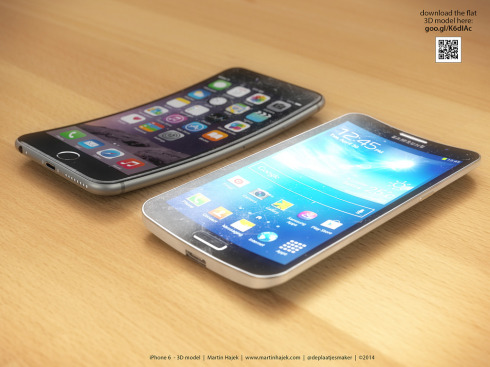 iPhone 6 Bend concept Martin Hajek 5