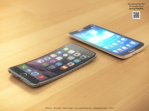 iPhone 6 Bend concept Martin Hajek 7