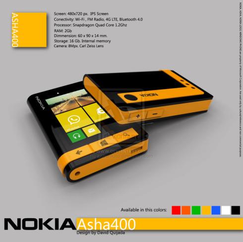 nokia asha 400 concept
