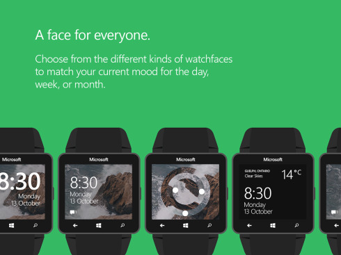 Microsoft Windows Watch concept 1