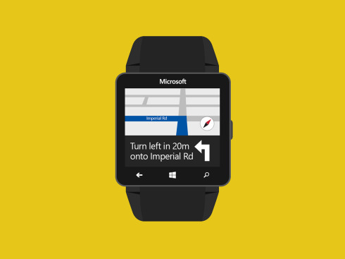 Microsoft Windows Watch concept 2