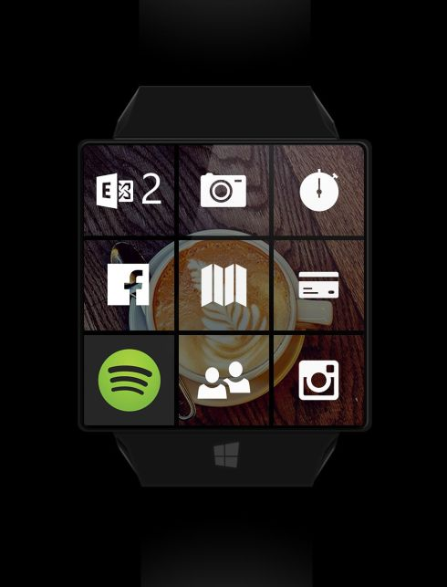 Microsoft Windows Watch concept 4