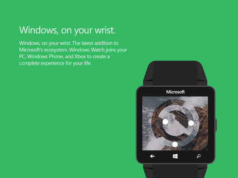 Microsoft Windows Watch concept 5