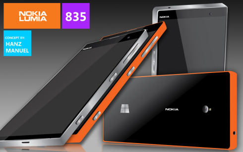Nokia Lumia 835 concept 1