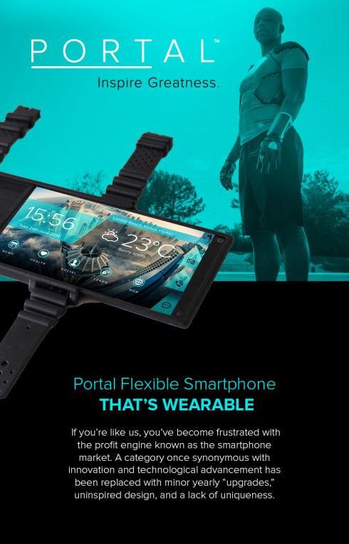 Portal flexible screen smartphone 4