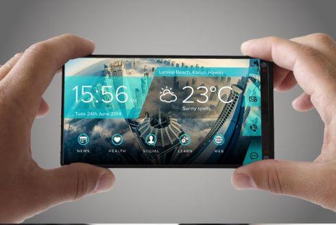Portal flexible screen smartphone 5