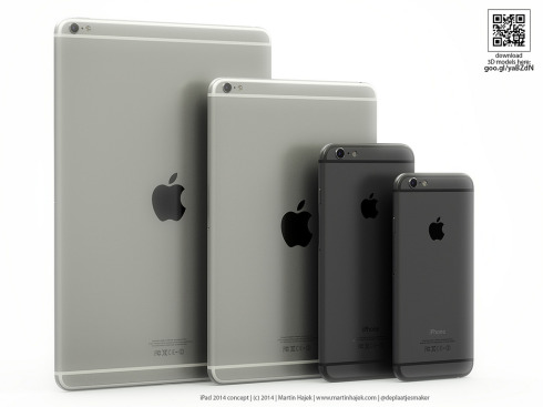 iPad Air 2 concept 2