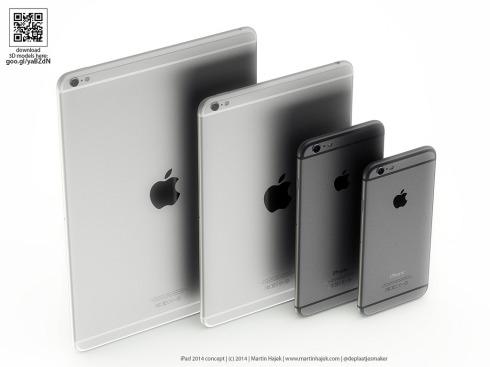 iPad Air 2 concept 3