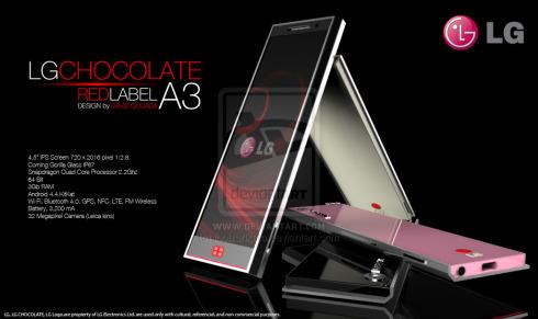 lg chocolate a3 concept