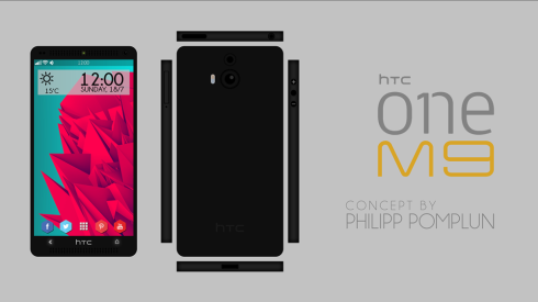 HTC One M9 concept december 2014
