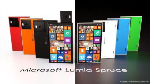 Microsoft Lumia Spruce concept 1